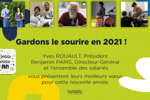 Voeux 2021 TARMAC partenaires